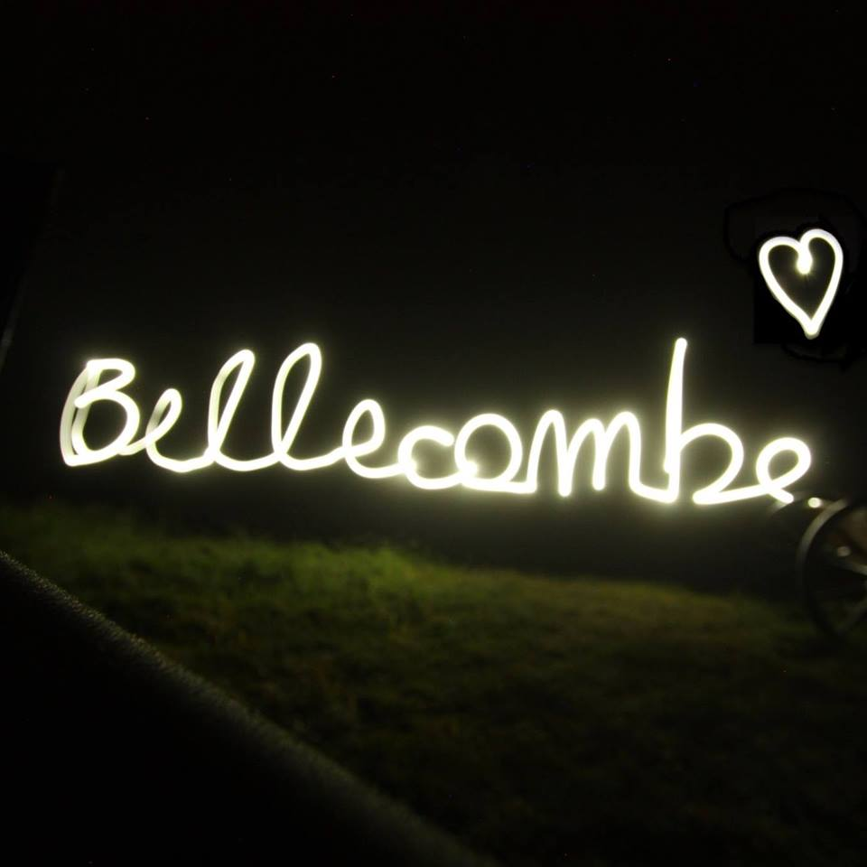 Bellecombe by night!