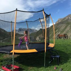 Le trampoline pour se défouler